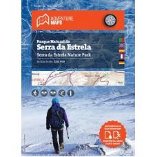 Mapa do Parque Natural da Serra da Estrela 1/25 000