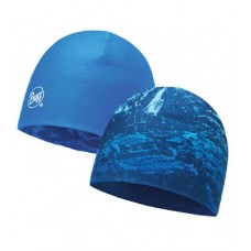 Gorro Buff Microfiber Reversible Mountain Bits Blue / Blue