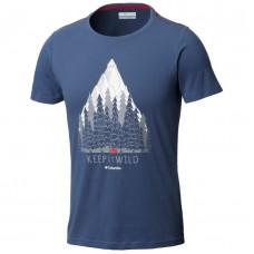 T-Shirt Homem Columbia Wild Camp SS Tee
