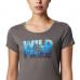 T-Shirt Senhora Columbia Hidden Lake Crew Tee